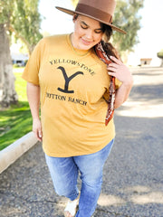 Yellow Stone Graphic Top (S-3XL)