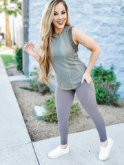 Full Length Butter Leggings with Wide Waistband (S-3XL)