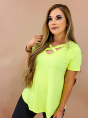 Short Sleeve Solid Knit Top (S-3XL)