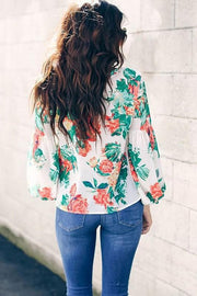 Floral Print Fashion Top