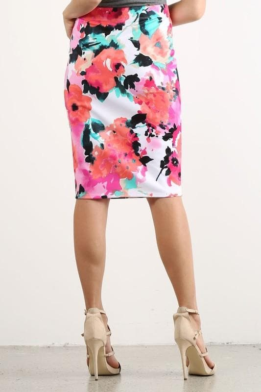 Watercolor Pencil Skirts