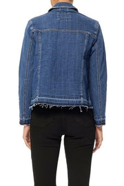 Judy Blue - Raw Edge Denim Jacket