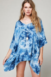 Tahiti Tie Dye Cover Up