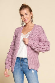Ariel Bubbly Cardigan