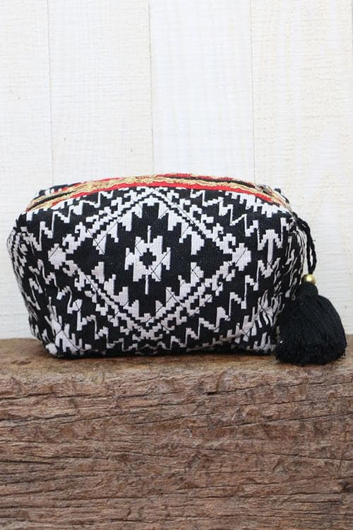 Handwoven Makeup Bag
