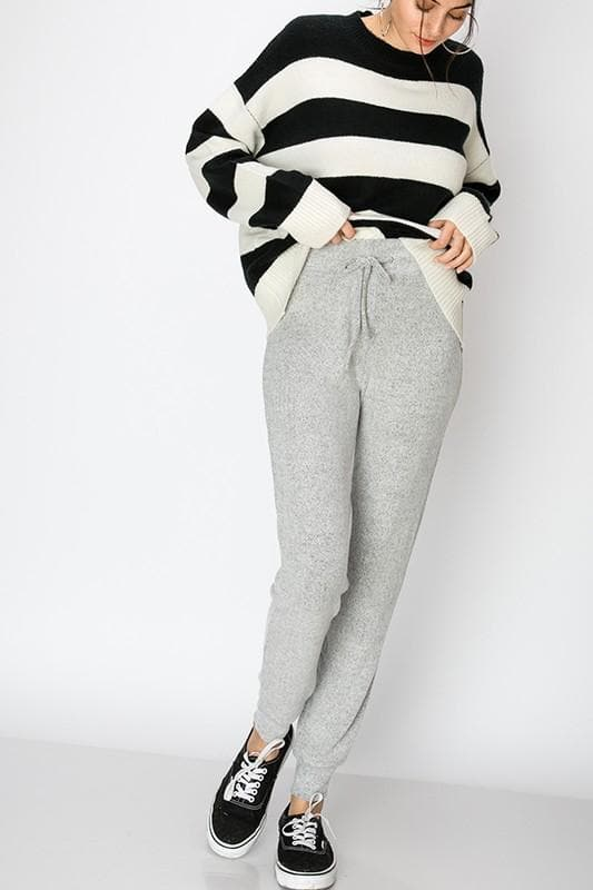DOORBUSTER Bunny Hair Soft Jogger Pants