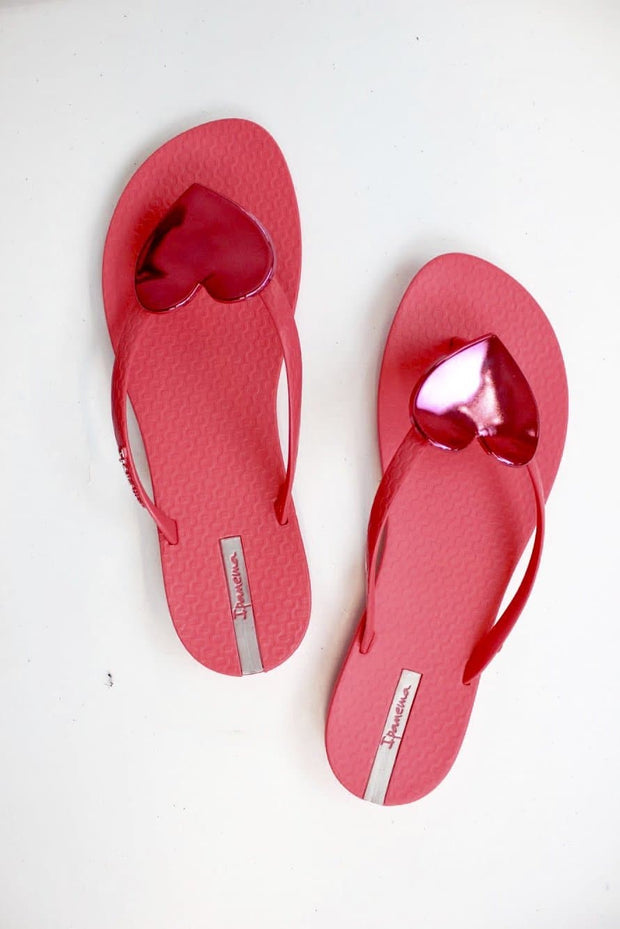 Heart Flip Flop - 100% Recycled Material