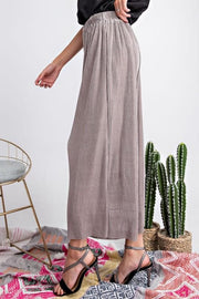 Easel - Pleated Party Wide Leg Pants