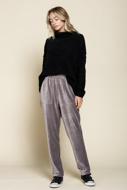 Knit Corduroy Pants
