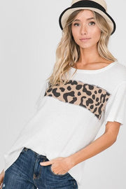Leopard Blocked Every Day Tee