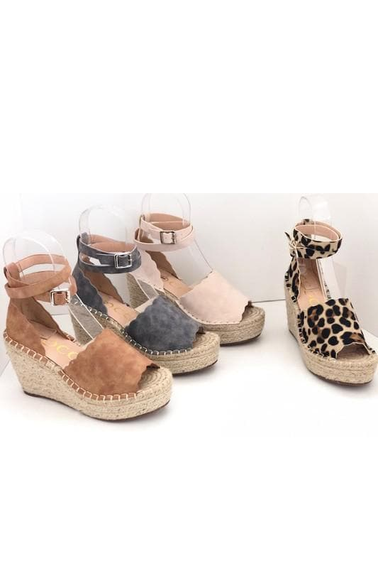 Jade - Wedge Espadrille Sandals