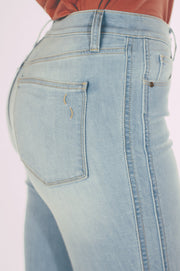 Skinny Fit Double Felled Side Seams Jeans