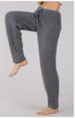 Pol - Berber Fleece 'Cozy' Pants with Adjustable Waist Drawstrings