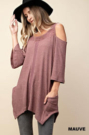 Lovers Rib Thermal Tunic Top