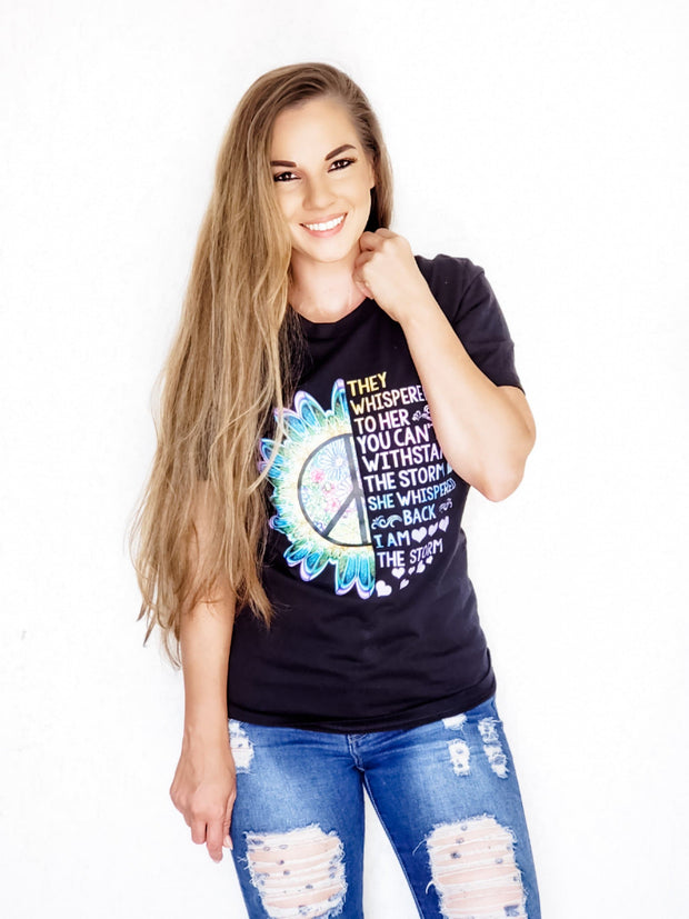 She Is The Storm Graphic Tee