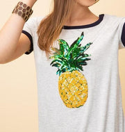 Pineapple Sequin Top