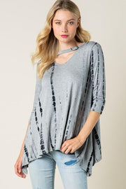 Baby Got Neck - Tie Dye Tunic