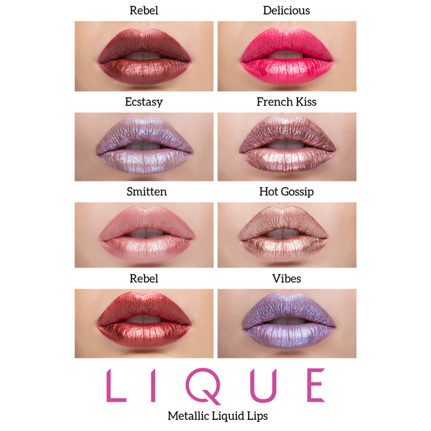 Lique Metallic Liquid Lip Paint