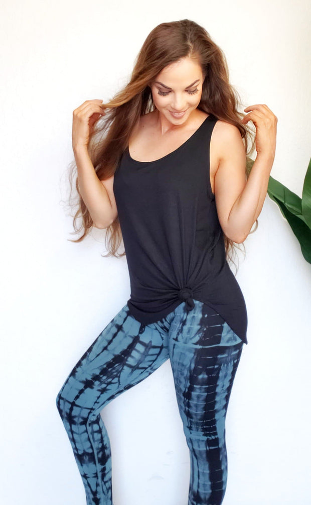 Women's Tie Dye Drip Seamless Leggings