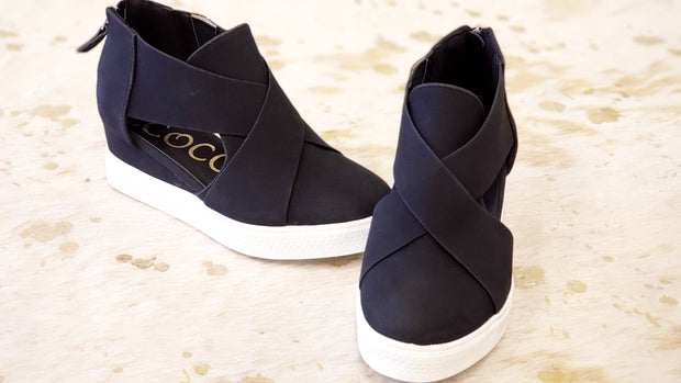 Melody - Wedge Sneakers