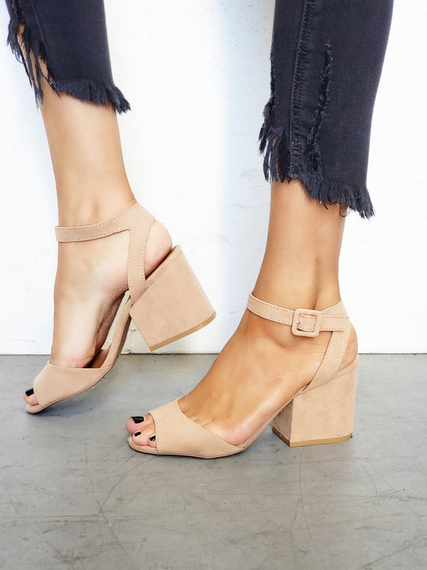 Oh She Thick - Chunky Heel