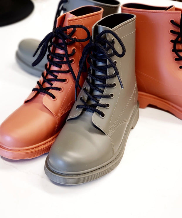Melbourne Colored Combat Boots