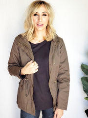 DEAL OF THE DAY Fur Lined Parka Jacket