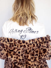 Distressed Rolling Stone Graphic Tee