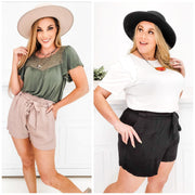 Super Chic Paper Bag Shorts (S-3XL)