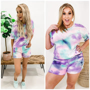 Tie Dye Delight Shorts (S-3XL)