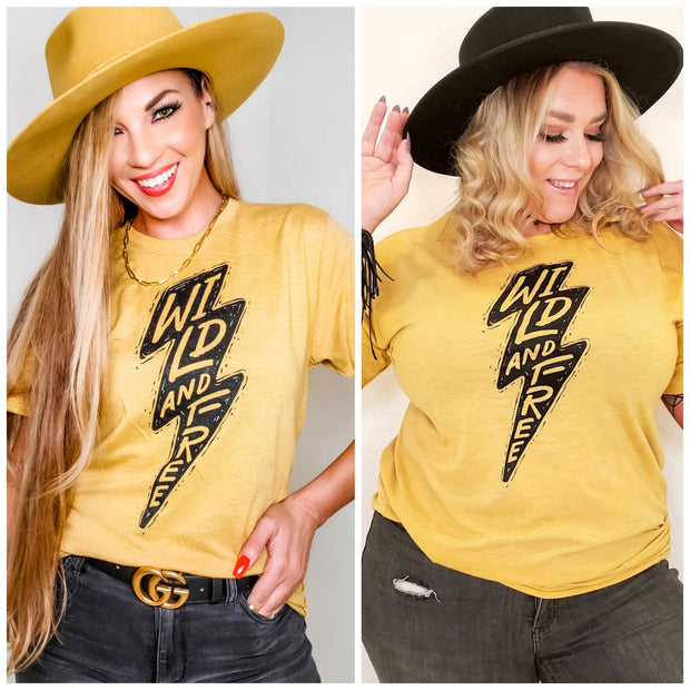 Wild & Free Graphic Top (S-3XL)