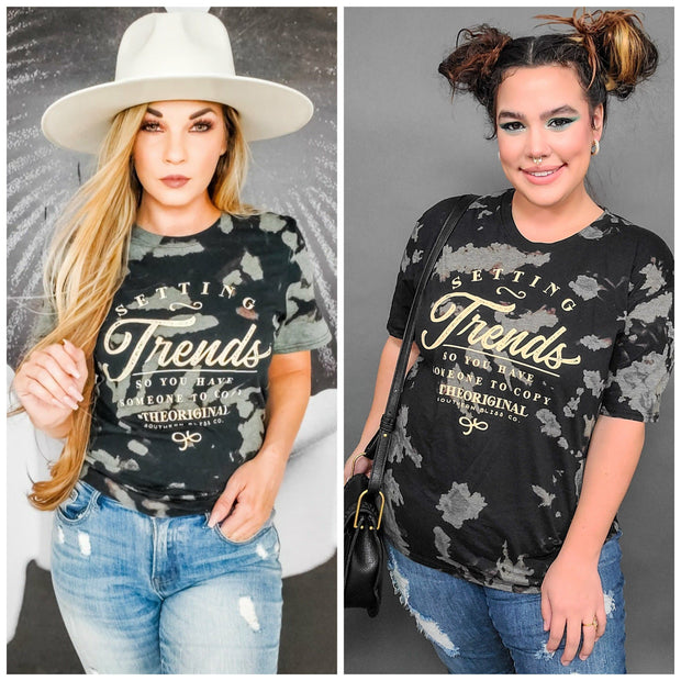 Trendsetter Bomba Wash Graphic Top (S-3XL)