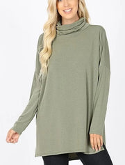 Doorbuster Cowl Neck Dolman Sleeve Top