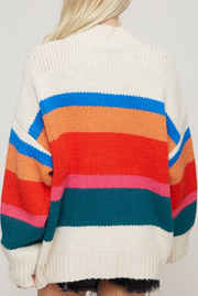 Somewhere Over the Rainbow Mock Neck Sweater