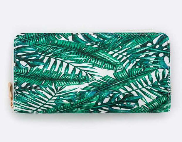 Palm Leaves Wallet