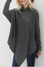 Super Soft Knit Poncho Style Top