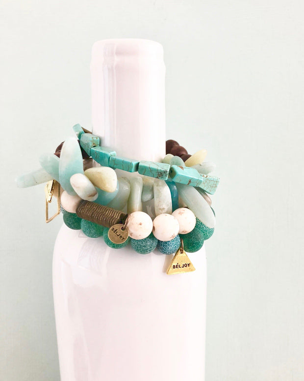 BELJOY The Cap-Haitian Bracelet Stack of 4