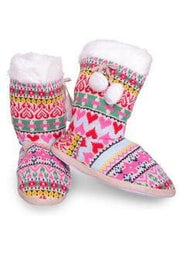 Women Indoor Slipper Booties