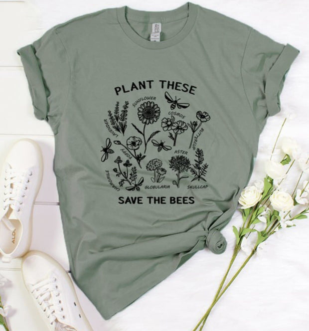 Pre Order - Save The Bees Graphic Tee