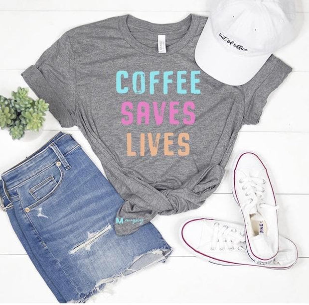 Coffee Saves Lives Graphic Tee