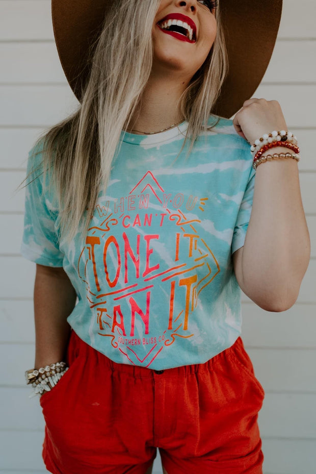 Tone It Tan It Graphic Tee