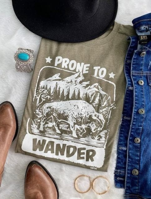 Prone To Wander Graphic Tee