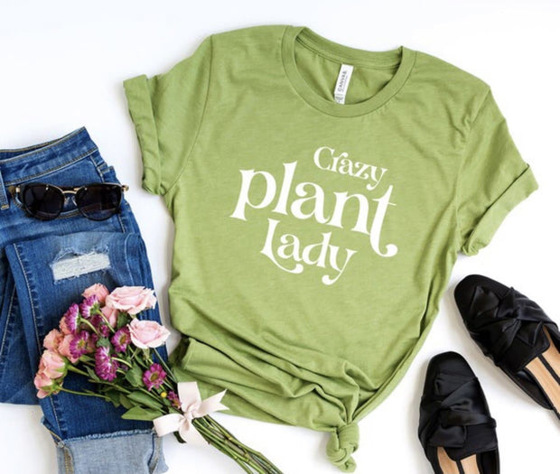 Crazy Plant Lady Graphic Tee