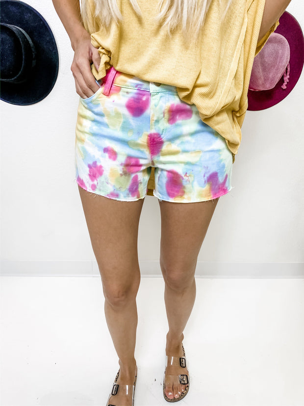 Judy Blue - Tie Dye Shorts (S-3XL)