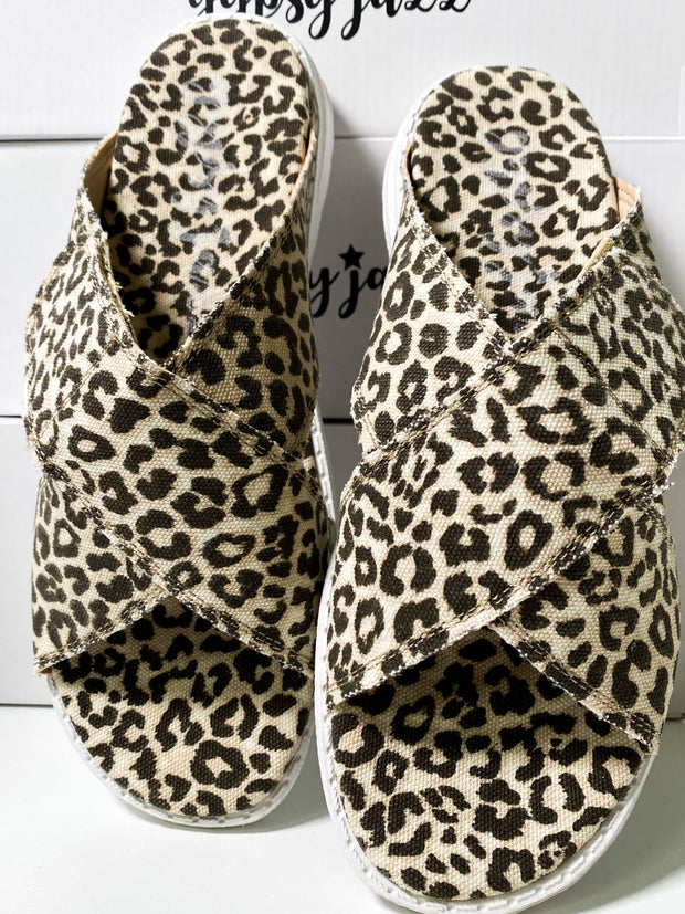 Ocean Prints Slippers