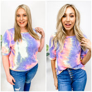 Tie Dye Casual Pullover Top (S-3XL)
