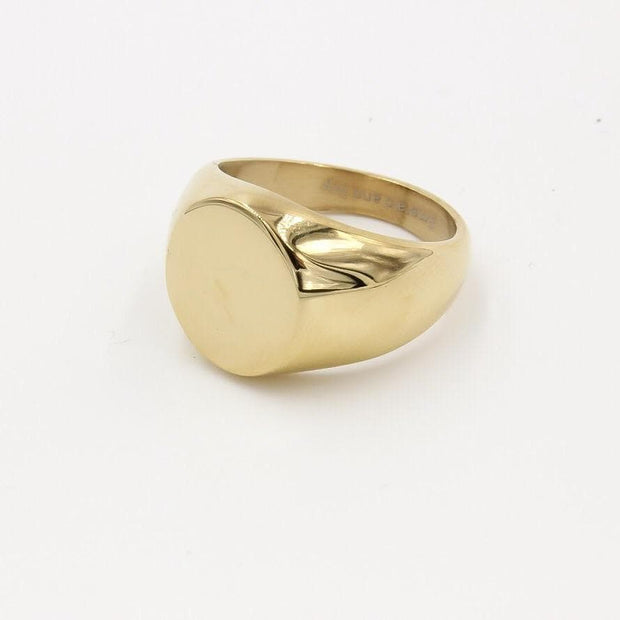 Solid Signet Ring