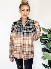 Hand Dipped Flannel
