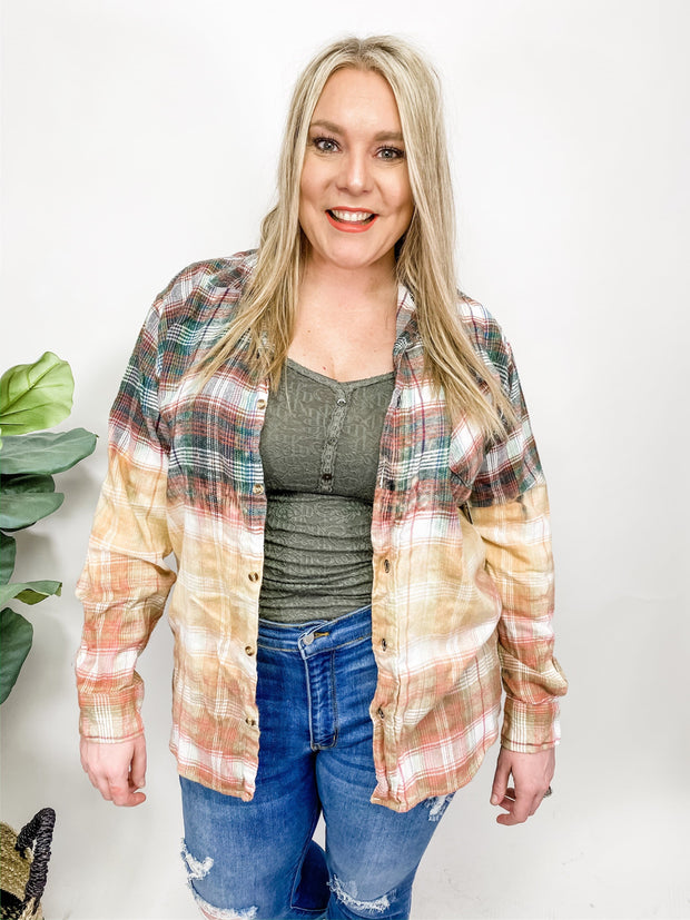 Spring Weight Hand Dipped Flannel (M-2XL)