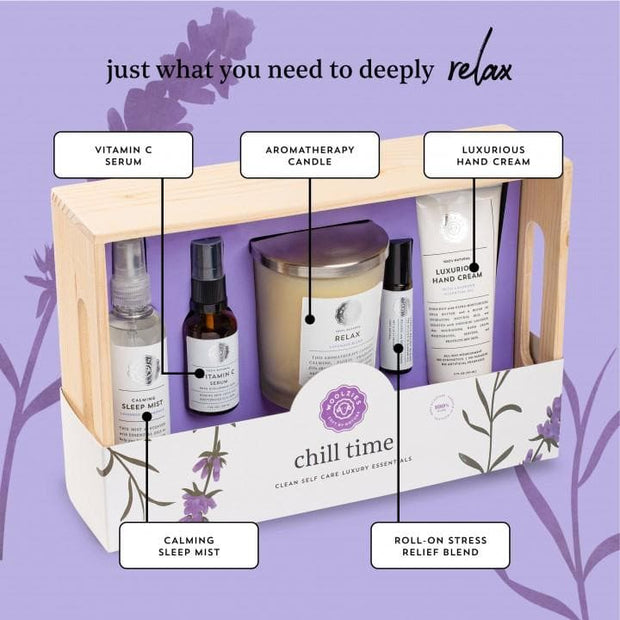Chill Time Clean Self-Care Luxury Essentials